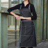 halter denim apron